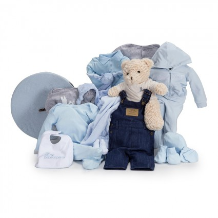 Casual Deluxe Baby Hamper Blue