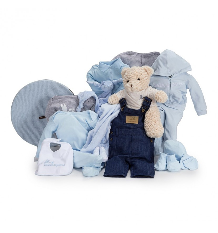 Casual Deluxe Baby Hamper Blue