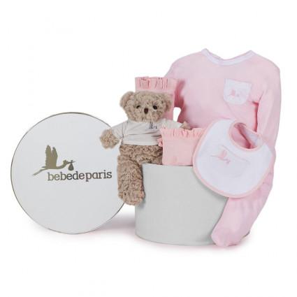 Classic Essential Baby Hamper pink