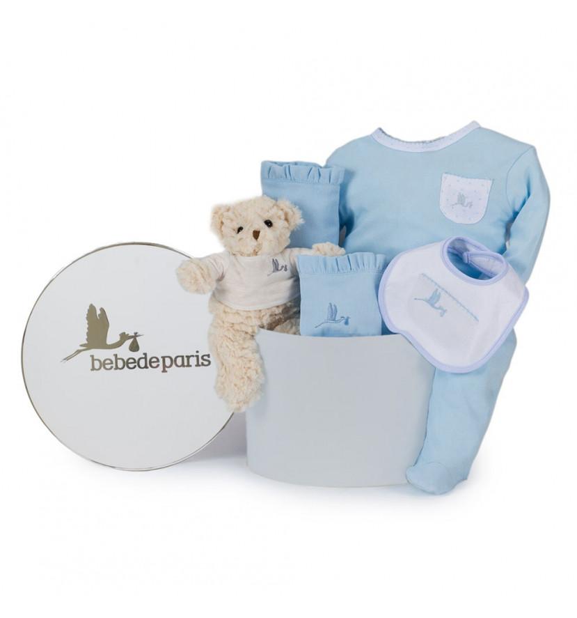 Classic Essential Baby Hamper blue