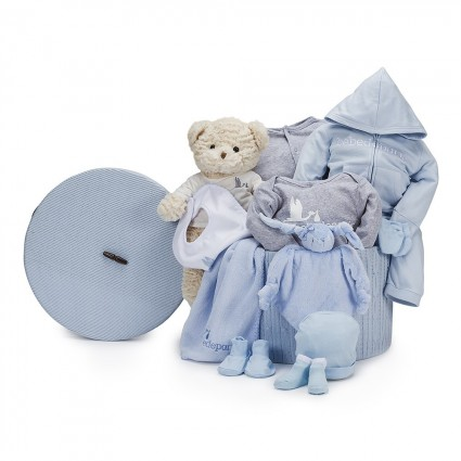 Casual Complete Baby Hamper Blue