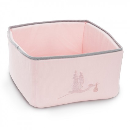 Baby Toiletries Basket Organizer Pink