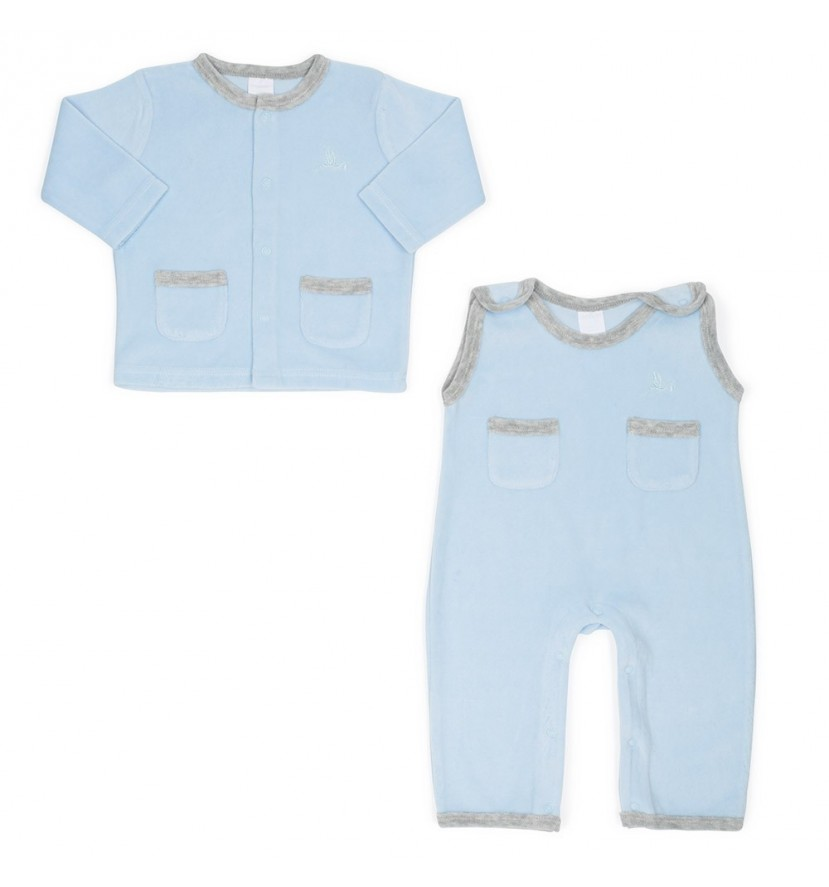 Blue Soft Baby Set