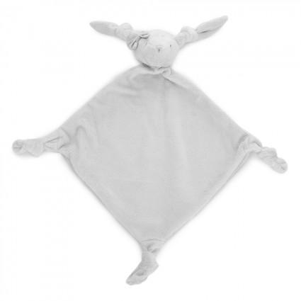 Grey Big Bunny Baby Comforter