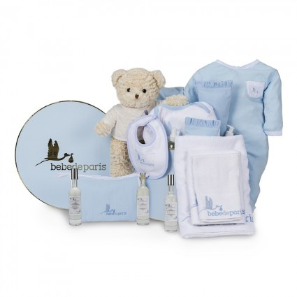 Spa Complete Baby Gift Hamper Blue