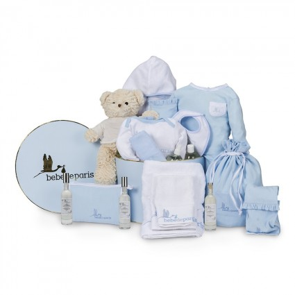 Spa Deluxe Baby Hamper Blue