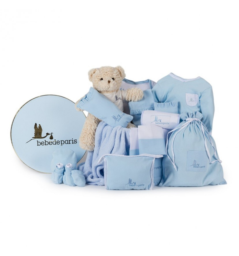 Classic Complete Baby Hamper Blue