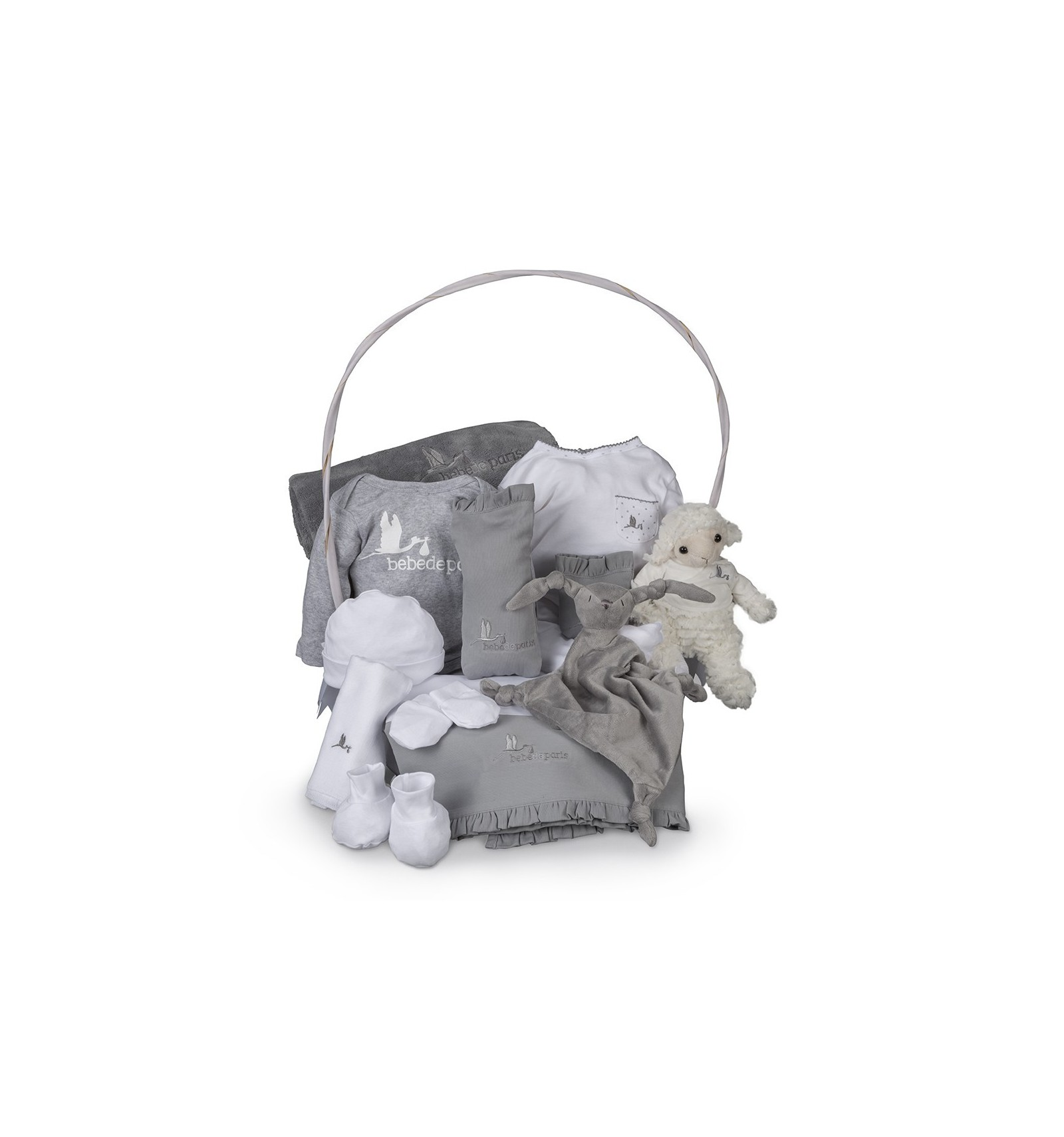 Serenity complete baby gift hamper serenity complete baby gift basket grey negle Images