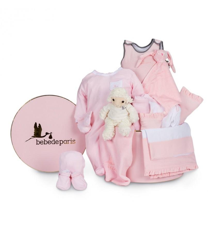 Pink Serenity Deluxe Baby Hamper