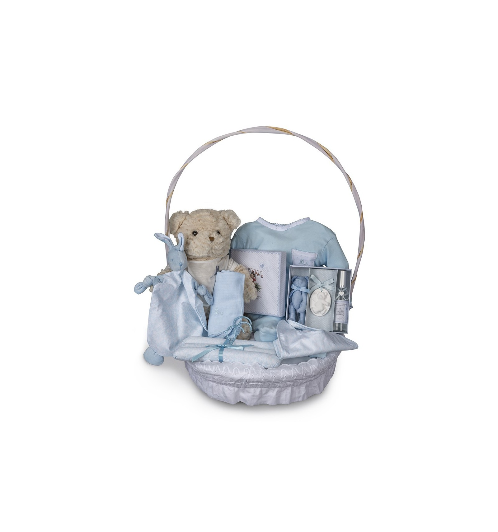 Baby Gift Baskets Delivered Uk : Vintage complete baby gift basket