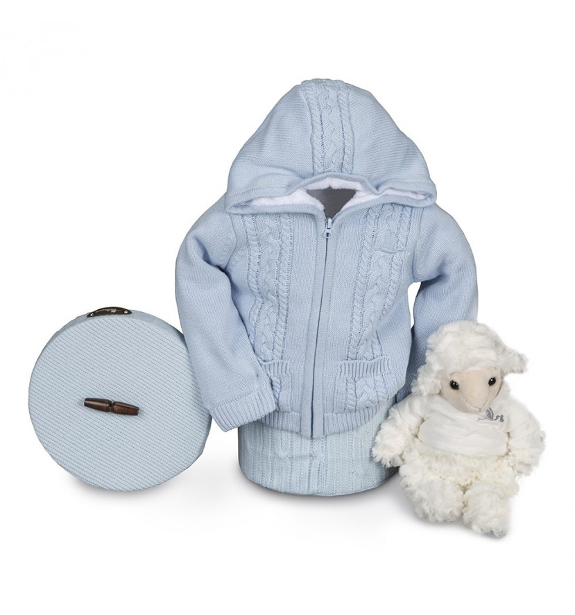 Blue  Happy Polar Baby Hamper